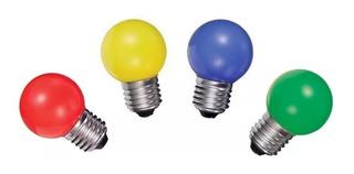Lámpara Gota 24w Colores Transparente E27 Guirnaldas
