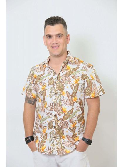 Camisa Social Manga Curta Amazonas