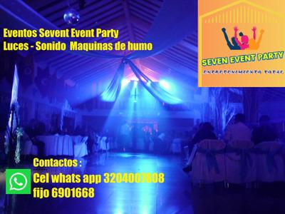 Alquiler De Luces Y Sonido Camara De Humo Eventos Bogota Sls