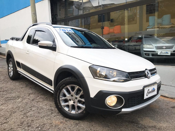 Volkswagen Saveiro Cross Ce 1.6 Manual Branca - 2016