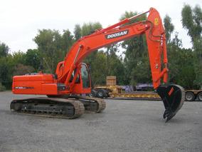 Excavadora Doosan Dx225 - Retropala Terex760b