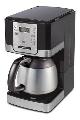 Cafetera Oster BVSTDC4402 automática negra y acero inoxidable de goteo 110V