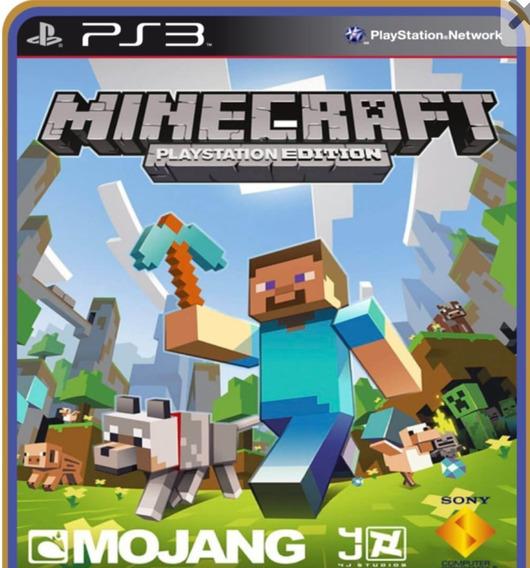 Minecraft. Jogo Ps3 Em Oferta.