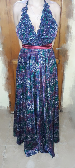 Vestido De Fiesta Azul, Marta Carabelli