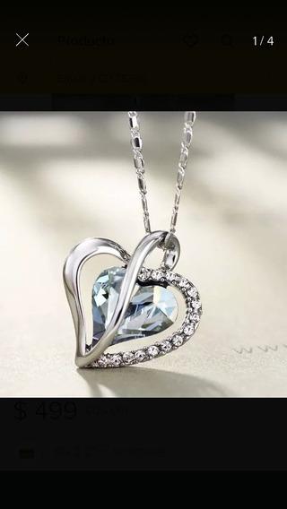 Hermoso Collar De Corazón