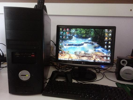 Pc Completo Intel Core 2 Quad Q 8300 4gb Ram Hd 500gb