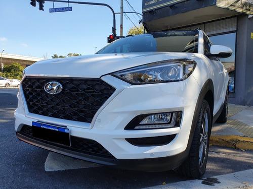 Hyundai Tucson Sunroof Año 2020 Color Blanco As Automobili