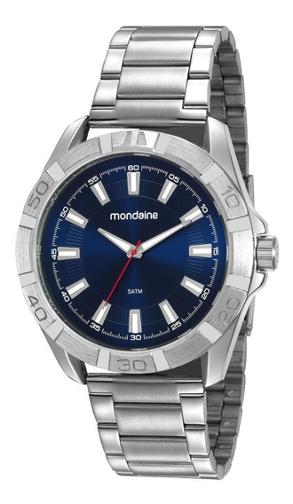Relógio Masculino Prata Mondaine Black Friday Promoção