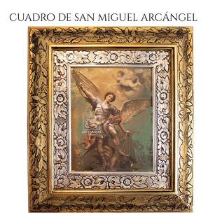 Cuadro San Miguel Arcangel 45x40 Cm