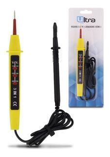 Teste De Energia Voltagem Medidor Tensao 3 Em 1 Ate 550v
