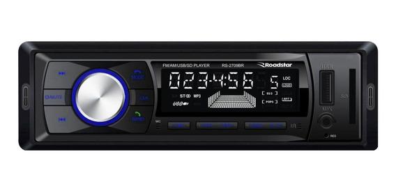 Som automotivo Roadstar RS-2709 preto