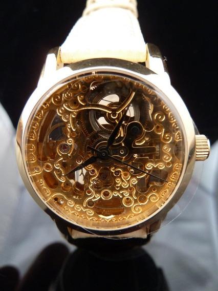 Reloj Original Akribos Xxiv Automático + Estuche (ref 1345)