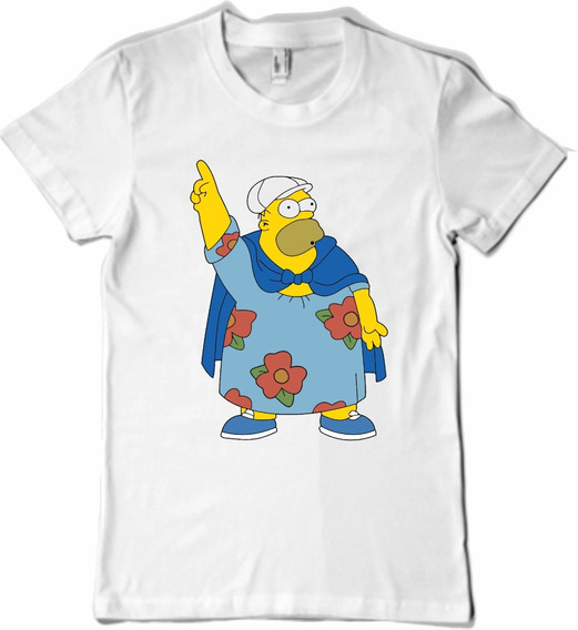 Remera Los Simpsons Homero Gordo