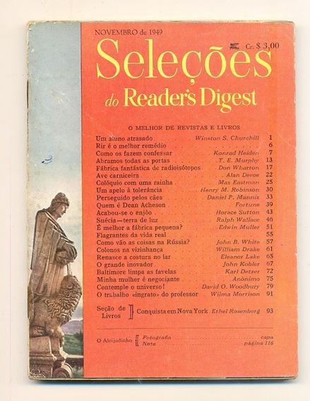 *sll* Revista Seleções Do Readers Digest - Novembro De 1949
