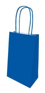 Sacola De Papel Festa Colors Azul Royal 8 Unidades