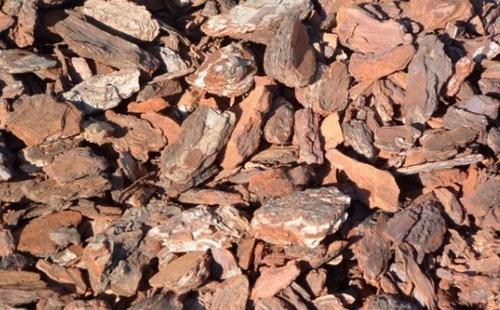 Bolsa Corteza Chip De Pino Árbol X 120 Dm3 Para Plantas