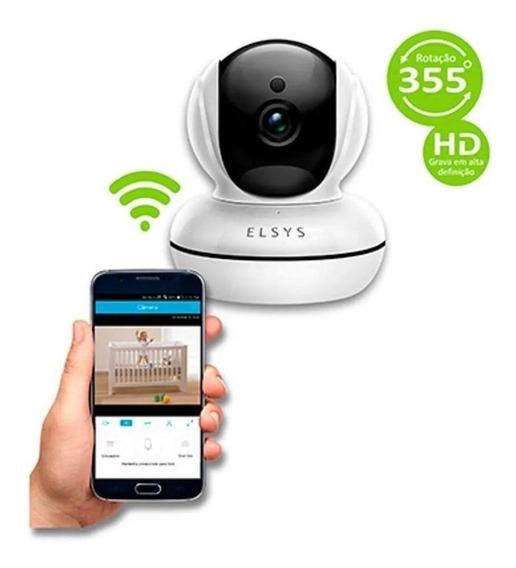 Camera De Segurança Elsys Wifi Esc-wr2 C/infravermelho