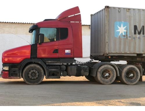 Scania T124 Ga 6x4 Nz 420