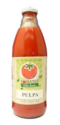 Pulpa De Tomate Orgánico X 1 Lt  Villa Santos