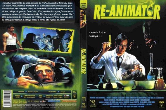 Dvds Re-animator Os Filmes Dublado E Legendado