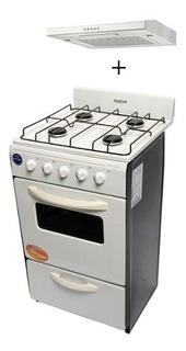 Cocina Martiri New Lujo 51cm + Campana Extractor Spar Cler