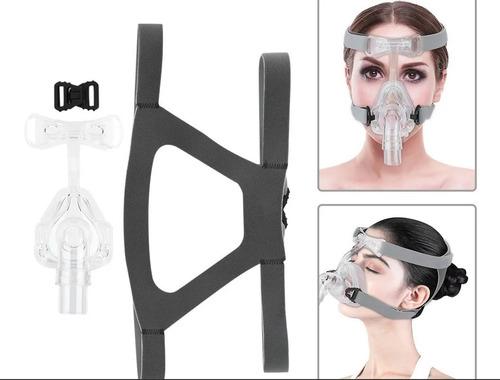 Imagen 1 de 10 de Máscara Facial Para Cpap Con Arnés, Registro En Msp Talle L