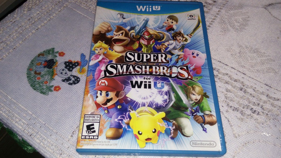 Super Smash Bros Wii U 100% Original Nintendo Wii U
