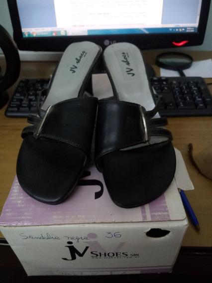Sandalia Negra 36