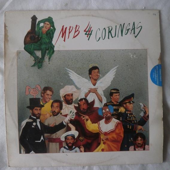 Lp Mpb 4 Quatro Coringas 1984, Disco De Vinil Com Encarte