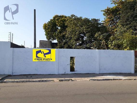 Terreno A Venda Na Avenida Edislson Brasil Soares - Te0438