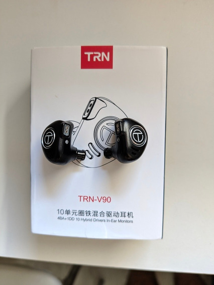 Fone Trn V90 Sem Microfone, Retorno De Palco