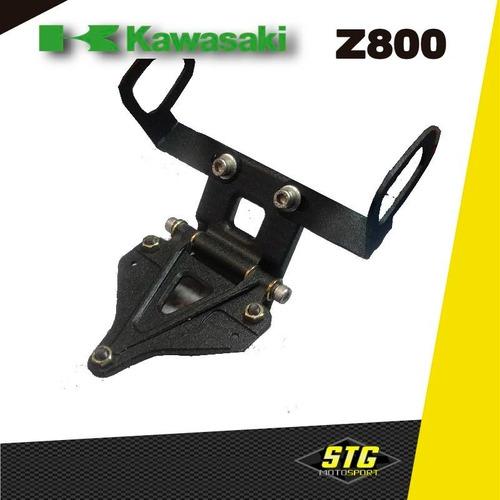Portapatente Fender Rebatible Stg Kawasaki Z800 C/g