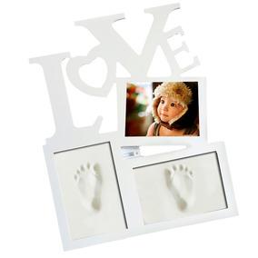 Handprint Footprint Fotografia Quadro Presentes Lembrança Be