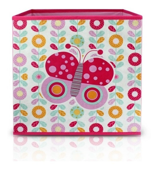 Organizador De Brinquedos Cesto Caixa Infantil P/ Quarto De Criança