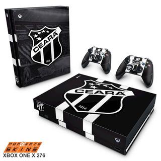 Skin Xbox One X Adesivo Ceará Sporting Club