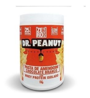 Pasta De Amendoim Dr Peanut C/ Whey Isolado (1kg) Promoção