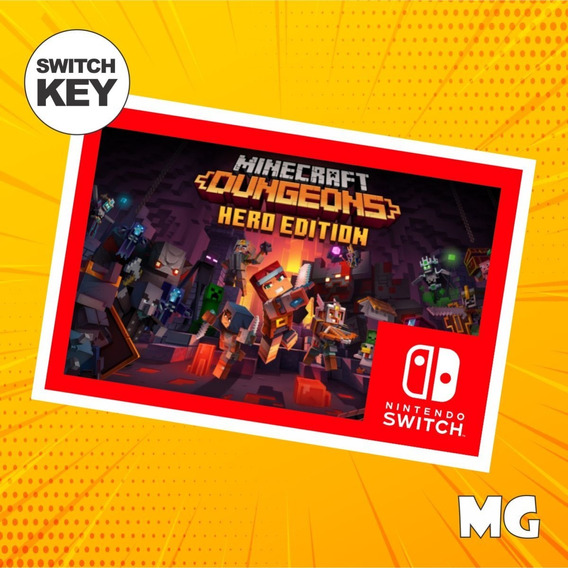 Edição Do Herói Do Minecraft Dungeons - Switch Digital