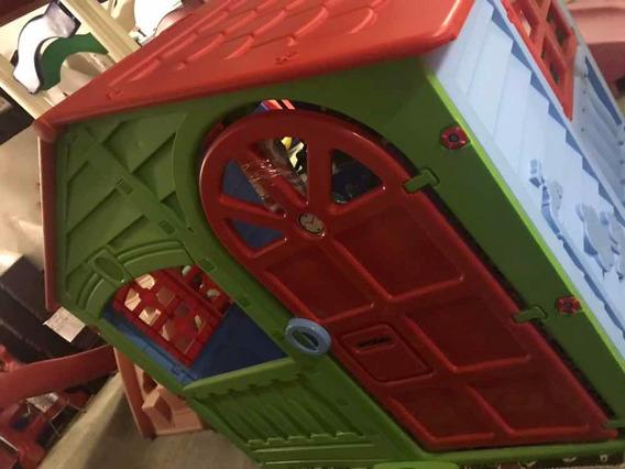 Playground Usado Casinha Infantil - Ainda Sem Uso Na Caixa!