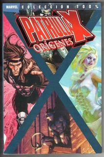Coleccion 100% Marvel Patrulla X Origenes Tomo 1 Panini