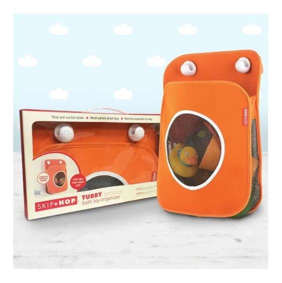 Skip Hop Organizador De Juguetes Para El Baño Color Naranja