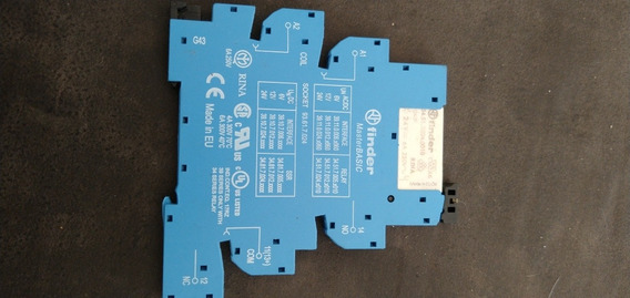 Relé Modular De Interface 24v Ac/dc Finder 1na 1nf