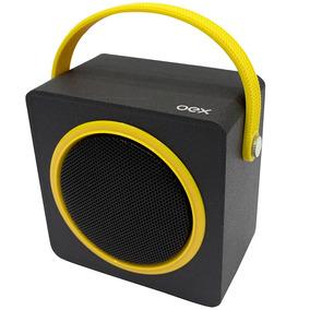 Caixa De Som Bluetooth Speaker Box Sk404 10w Oex Amarelo