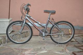 Bicicleta R 24 Con 9 Cambios