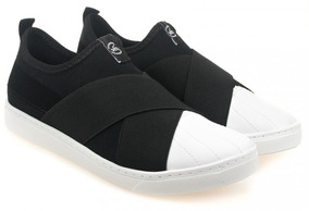 Tênis Slip On Feminino Via Marte 19-11301