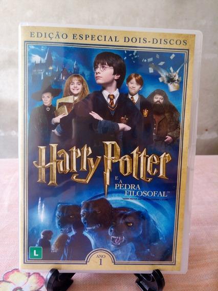 Dvd Harry Potter A Pedra Filosofal