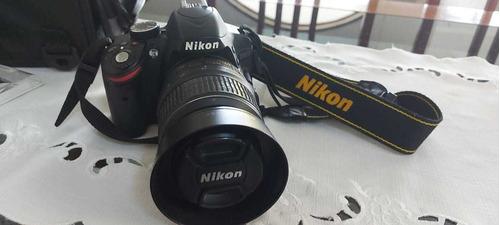 Camera Nikon D3200 Lente Nikkor 18-55 Vr Profissional