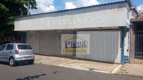Salão Comercial Para Locação, Vila Yolanda Costa E Silva, Sumaré. - Sl0586