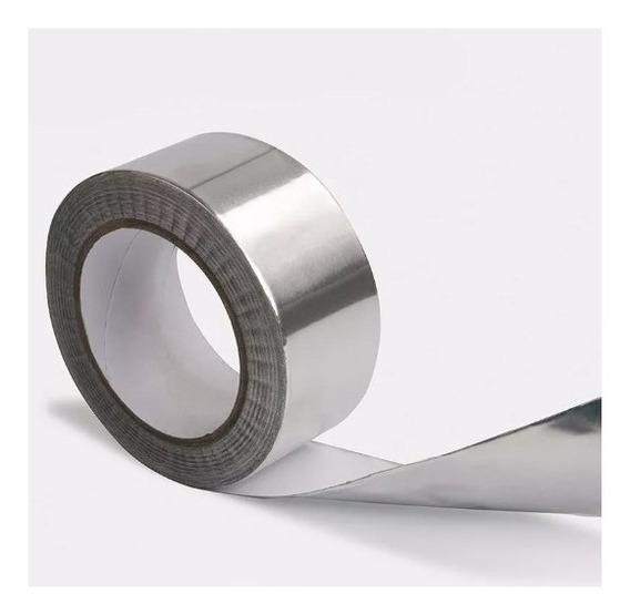 Fita Adesiva De Aluminio Refletiva 30mmx20m Reballing