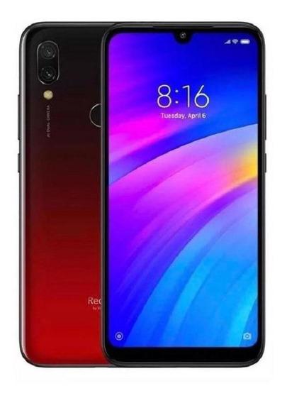 Celular Xiaomi Redmi 7 Lunar Red 3gb Ram / 32gb