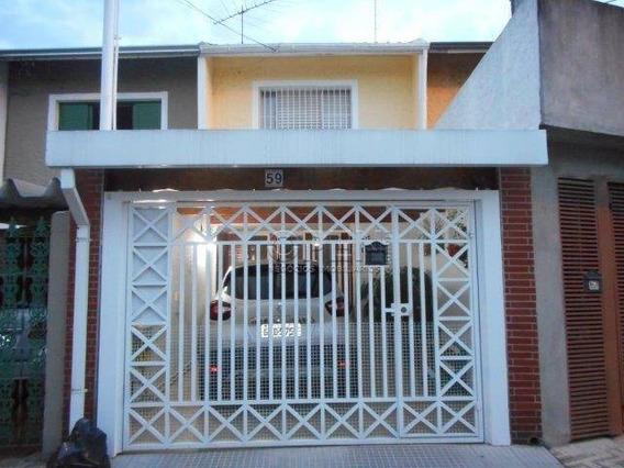 Sobrado Residencial À Venda, Casa Branca, Santo André. - So1272